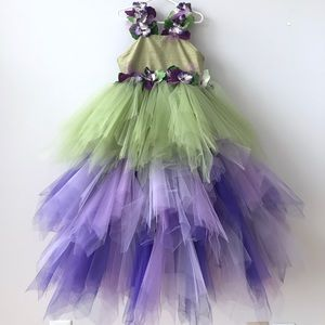 Other - Green and purple, special event girl's dress